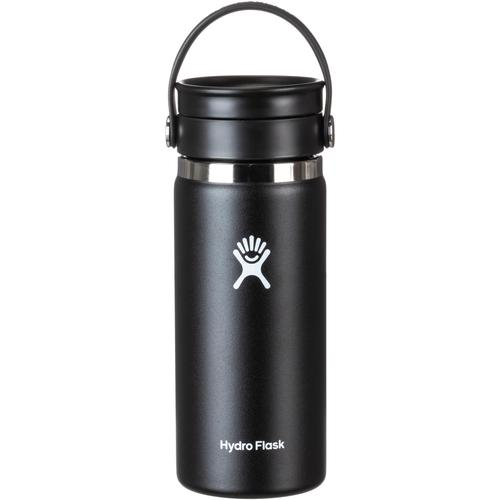 Hydro Flask Wide Mouth Isolierflasche in black, Größe 473
