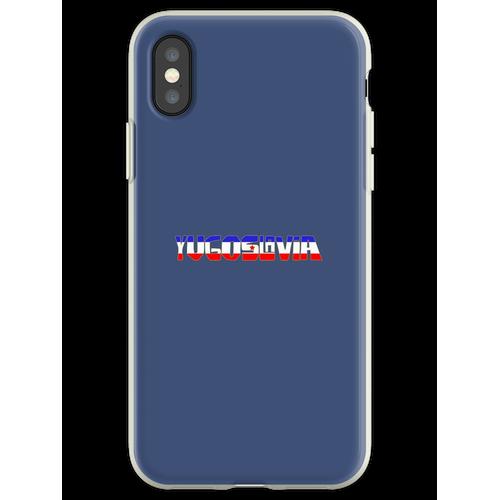 Ex Jugoslawien - Jugoslawien Flexible Hülle für iPhone XS