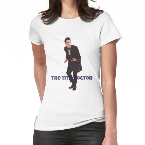 Das 11. Doktor T-Shirt und Aufkleber von MyLittleFandoms Frauen T-Shirt