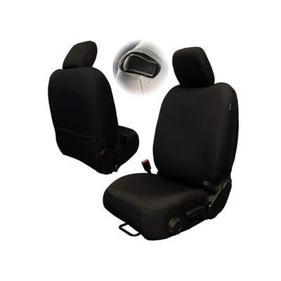 """Bartact Auto & Atv Jeep Seat Covers Rear Bench Plus Wrangler JL 2 Door Baseline Performance Black"""