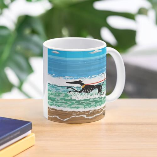 Running in the Sea Mug