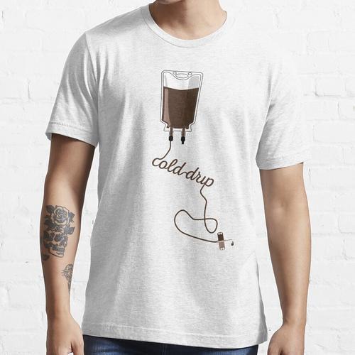 Kaltgetränk Kaffee Essential T-Shirt