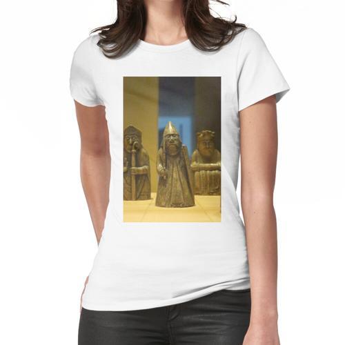 Lewis Schachfiguren Frauen T-Shirt