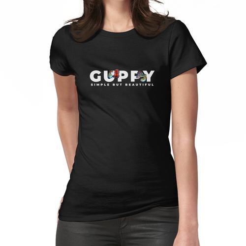 Guppy Fish Keeper Aquarium Wasserwechsel Frauen T-Shirt