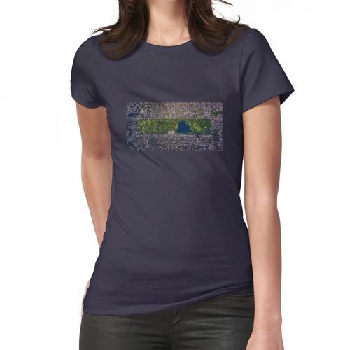 Luftbild von New York Frauen T-Shirt