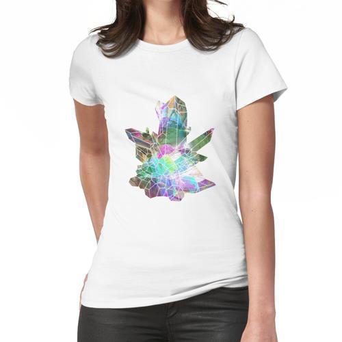Kristallclusterkristalle4 Frauen T-Shirt