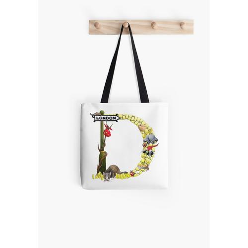 Buchstabe D ist für Dick Whittington und sein Katzenalphabet Tasche