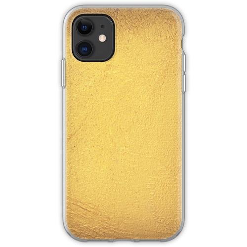 Goldmetallische Folie Flexible Hülle für iPhone 11