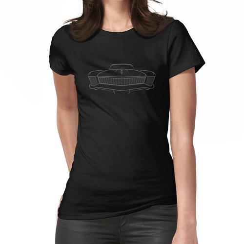 1965 Buick Riveria - Frontschablone, weiß Frauen T-Shirt