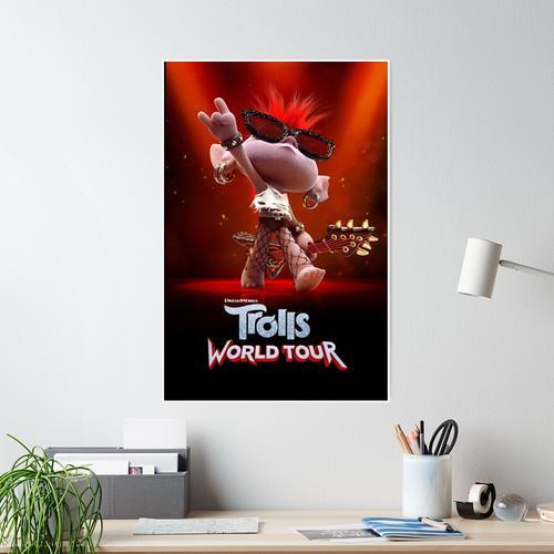 Die Trolls World Tour Poster