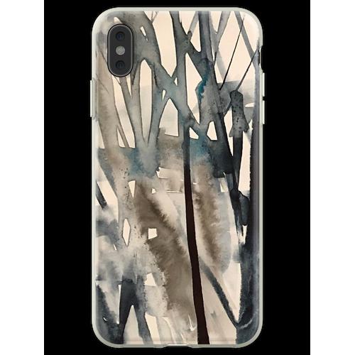 Winterbüsche Flexible Hülle für iPhone XS Max