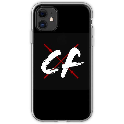 CrossFitters Logo - Langhantel - CrossFit Flexible Hülle für iPhone 11