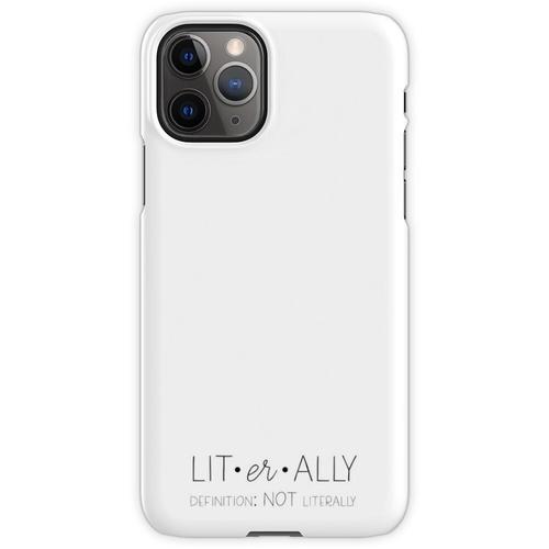 Definition von wörtlich (nicht wörtlich) iPhone 11 Pro Handyhülle