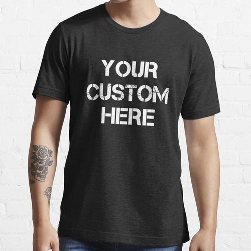 Personalisiertes Crop Women's Cropped Tee Personalisiertes Tanktop, personalisiert Essential T-Shirt