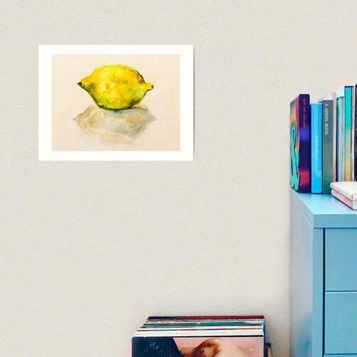 Zitronen Zitronen Zitronen! Kunstdruck