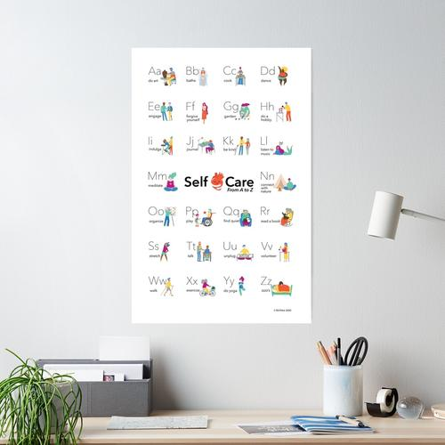 Self-Care-Alphabet Poster