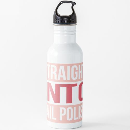 Direkt in den Nagellack Wasserflasche