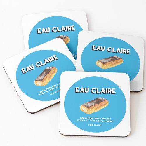 Eau Claire / Eclaire Untersetzer