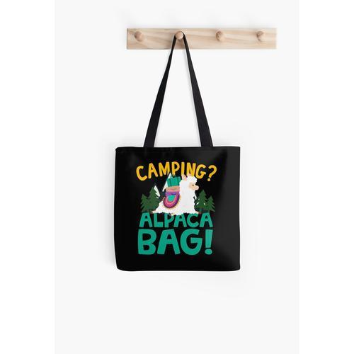Camping Alpaka Tasche Tasche