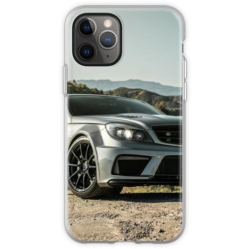 Wide Body Kompressor Mercedes-Benz C63 AMG Flexible Hülle für iPhone 11 Pro