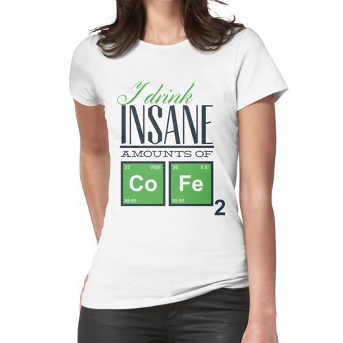 Lustiger Kaffee Frauen T-Shirt