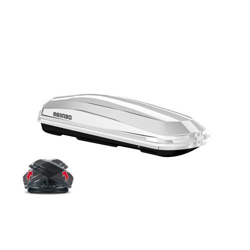 Dachbox 'Diamond 450 Weiß Duo-Lift' | Menabo
