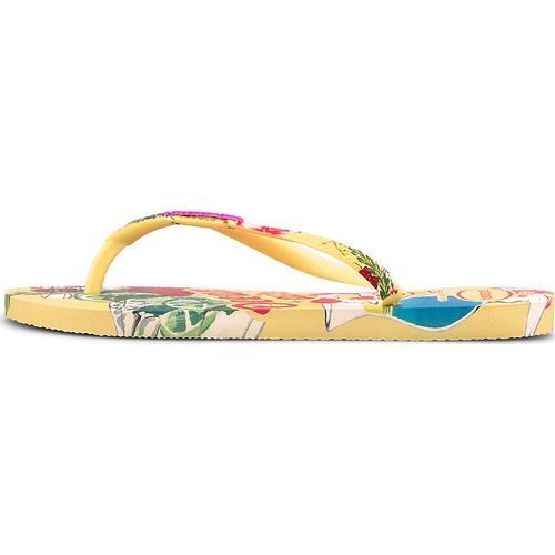 Havaianas, Sandale Havaianas Slim Summer in gelb, Sandalen für Damen Gr. 40