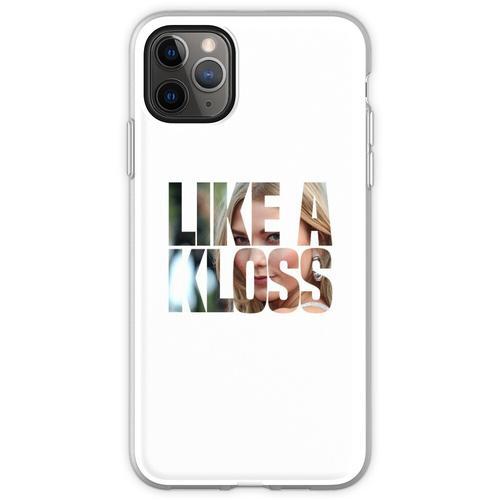 WIE EIN KLOSS Flexible Hülle für iPhone 11 Pro Max