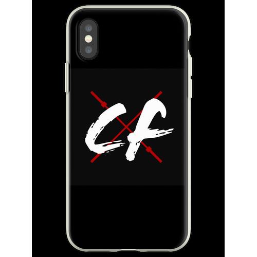 CrossFitters Logo - Langhantel - CrossFit Flexible Hülle für iPhone XS