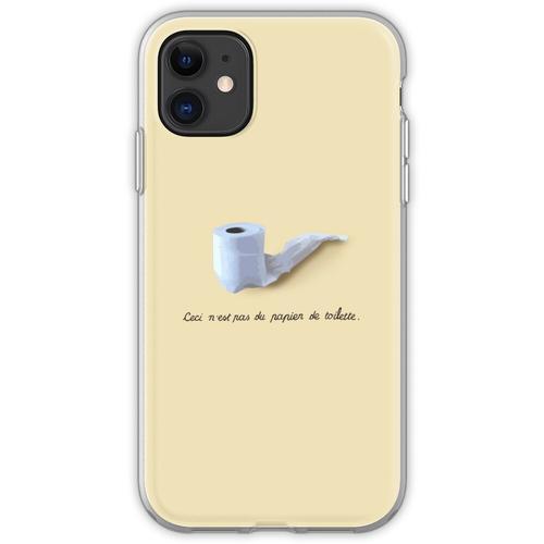 Dies ist kein Toilettenpapier. (Ceci n'est pas du papier de toilette.) Flexible Hülle für iPhone 11