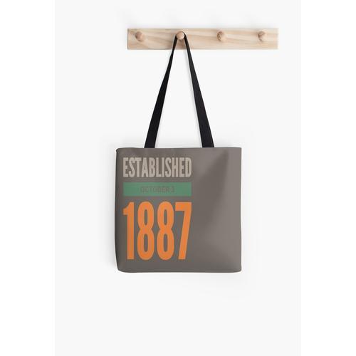 1887 gegründet Tasche