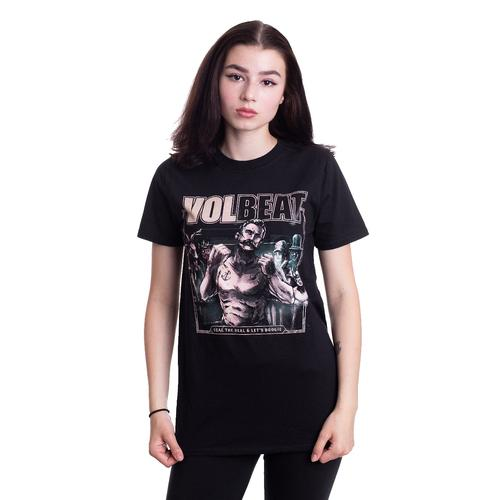 Volbeat - Seal The Deal Cover - - T-Shirts