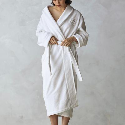 Resort Plush Robe - Carbon, Larg...