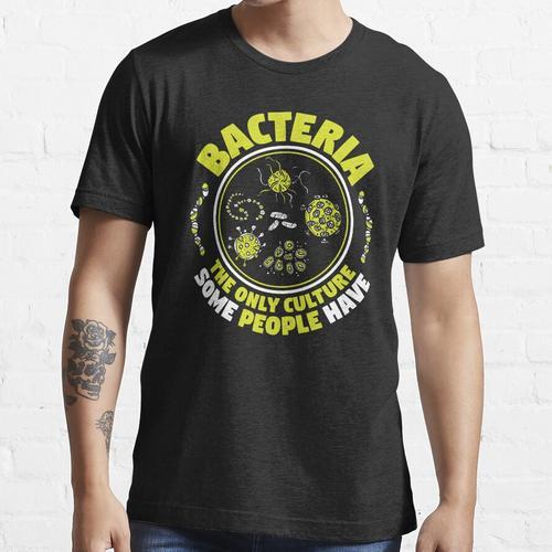 Mikrobiologie Mikrobiologe Biologie Biologe Geschenk Essential T-Shirt