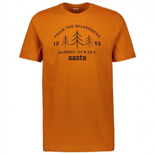 Sasta - Wilderness - T-Shirt Gr XXL braun/orange