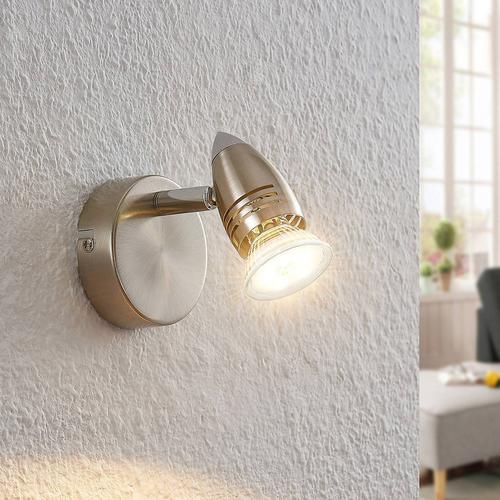 ELC Kalean LED-Spot, nickel, 1-flammig