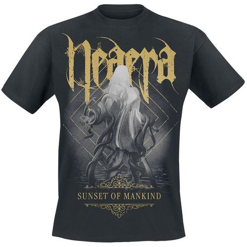 Neaera Sunset Of Mankind Herren-T-Shirt - schwarz - Offizielles Merchandise