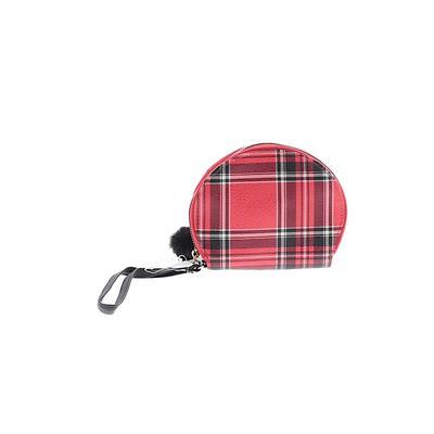 Wristlet: Red Plaid Bags