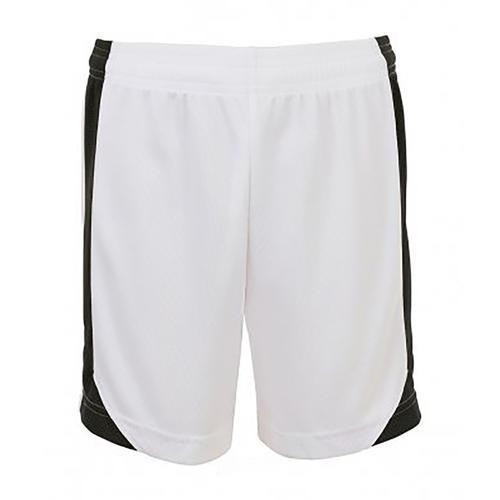 SOLS Shorts Herren Olimpico Fußball weiß Hosen