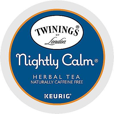 96 Ct Twinings Nightly Calm™ Tea 96-Count (4 Boxes Of 24) K-Cup® Pods.