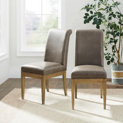 Penelope Side Chair, Set Of Two - Marbled Bone - Grandin Road