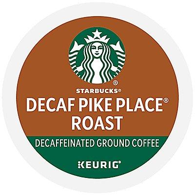 96 Ct Starbucks Decaf Pike Place Roast Coffee 96-Count (4 Boxes Of 24) K-Cup® Pods. Coffee