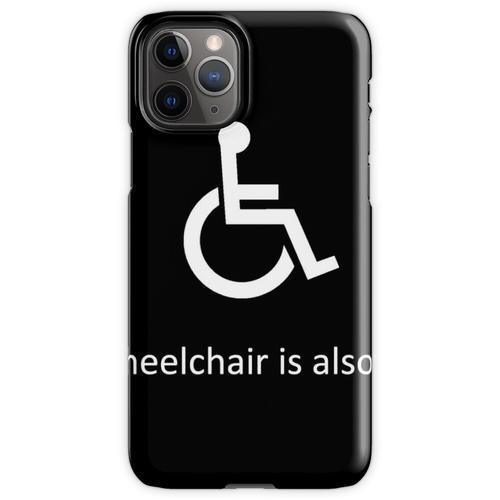Mein anderer Rollstuhl ist auch ein Rollstuhl iPhone 11 Pro Handyhülle