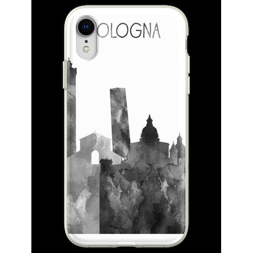 Bologna, Bologna Skyline, Aquarell Bologna Flexible Hülle für iPhone XR