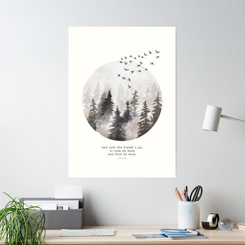 Into The Forest I Go Poster