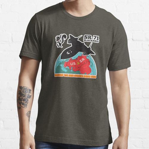 SR-71 Den Eisernen Vorhang brechen Seit 1966 Essential T-Shirt