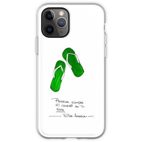 Komfort Sandalen Flexible Hülle für iPhone 11 Pro
