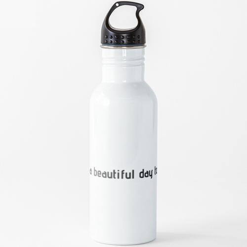 Podologie Wasserflasche