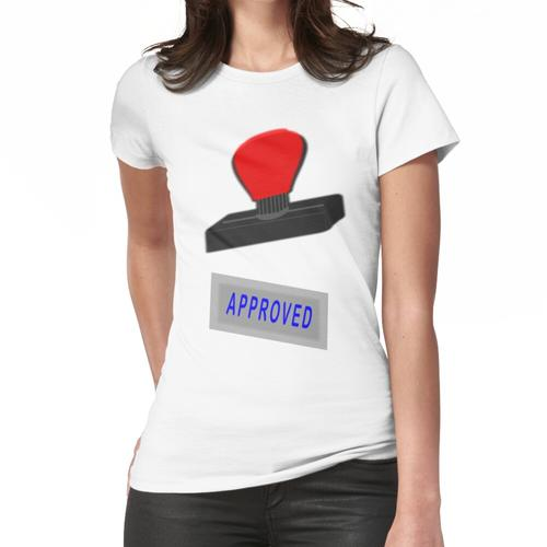 Genehmigter Stempel Frauen T-Shirt