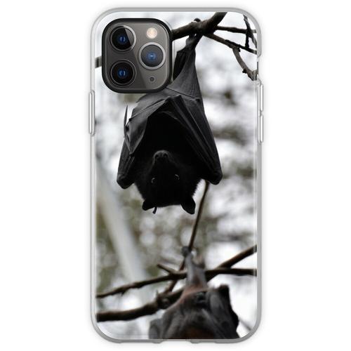 Fledermäuse, Fledermäuse, Fledermäuse Flexible Hülle für iPhone 11 Pro